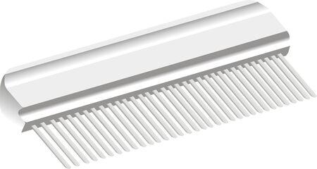 Dog Comb Illustration
