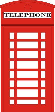 English Red Phone Box