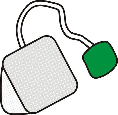 Teabag Stock Vector - 4540740