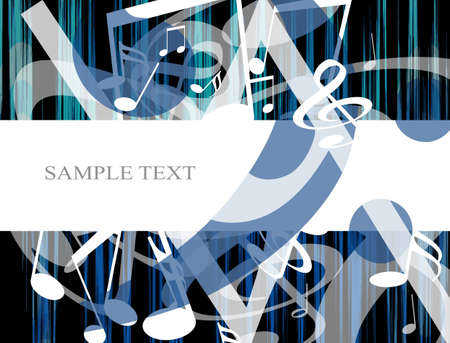 abstract musical background with space for sample text photo