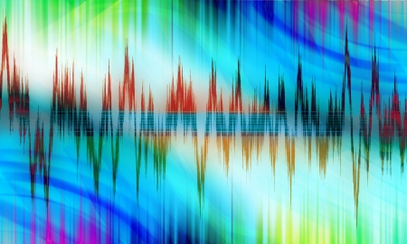 equalizer sound background theme; colorful wallpaper photo