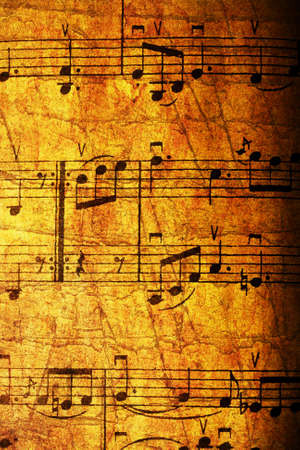 vertical vintage textured musical background photo