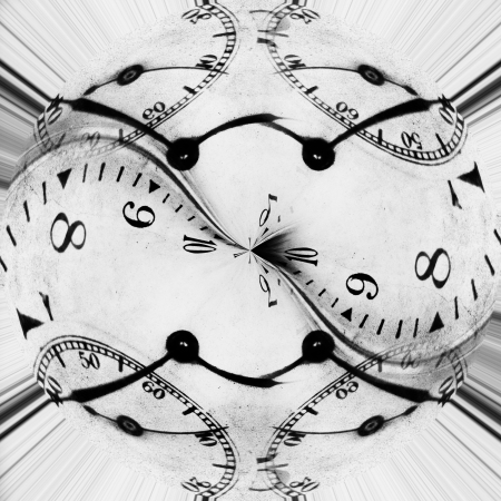 time and infinity abstract conceptual