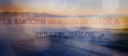 unqnown quote sea abstract background