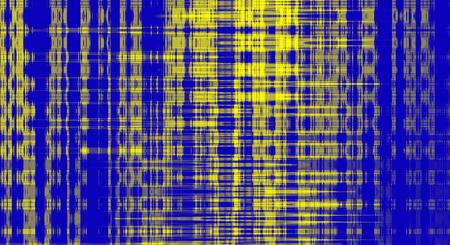 adn: fractal moderna amarilla adn azul diseño de fondo abstracto