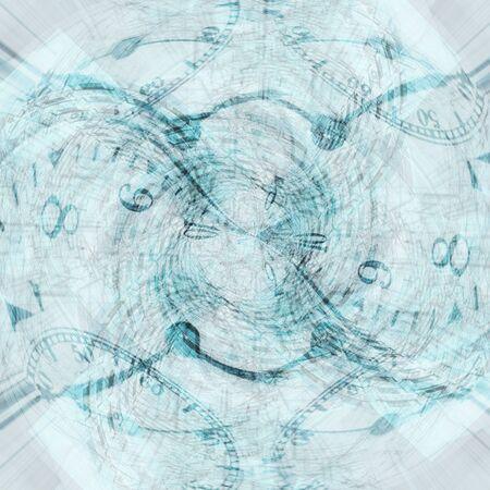 conceptual: Vortex of time abstract conceptual background
