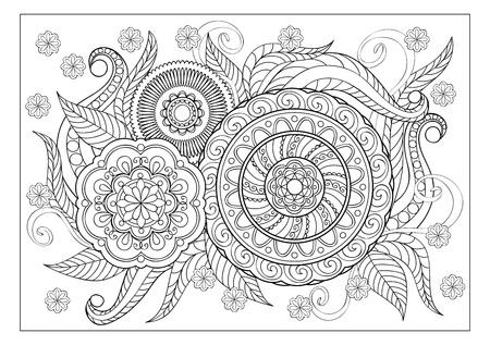 Mandala Kleurplaten Voor Volwassenen Bloemen.Kleurplaten Mandala S Voor Volwassenen Classy World
