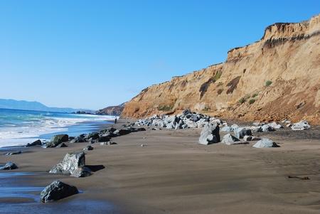 california beach: California Coast and Pacific Ocean