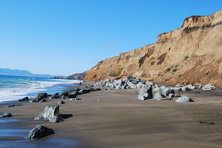 california coast: Costa de California y el Oc�ano Pac�fico