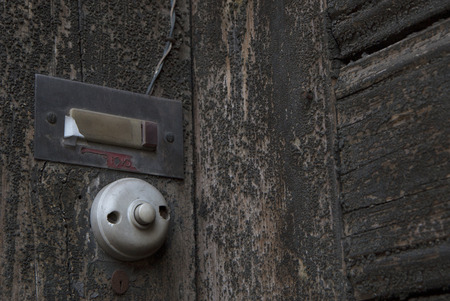 old doorbell Stock Photo