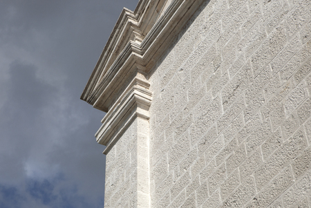 stone made architectural detail