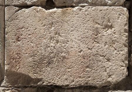 stone block surface