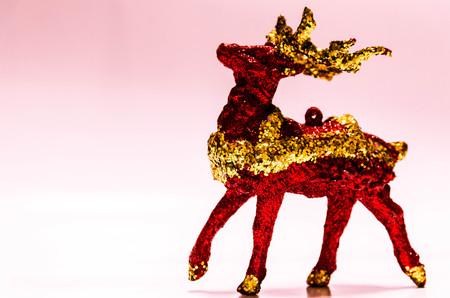 Santa s rain deer Stock Photo - 23051274