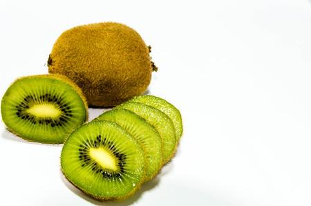 Kiwi-Fr�chte in St�cke geschnitten