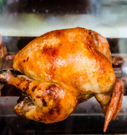 Chicken griling in the oven