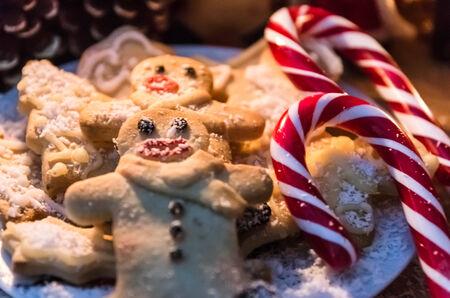 Weihnachten knackig Cookies II Lizenzfreie Bilder