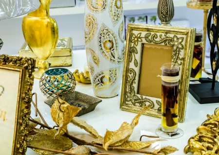 Picture frames,candles and all kinds pf items for the house Stock Photo - 24369901