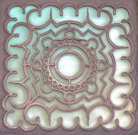 Brown metal colors  Stock Photo