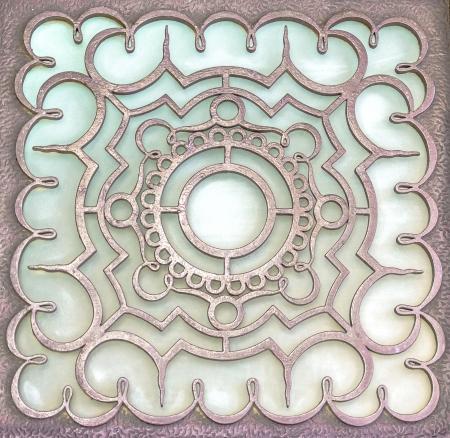 Metall-orientalischen Design