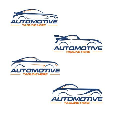 super cars logo Vettoriali