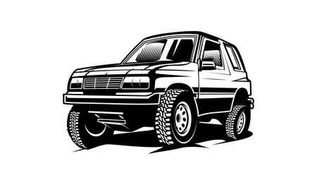 car sport pickup truck car silhouette