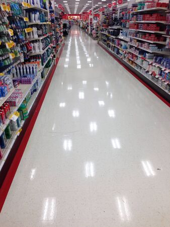 Shiny Floor at retail store