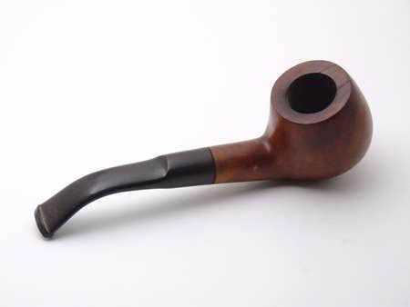 tobbaco pipe isolated Stock Photo - 413131