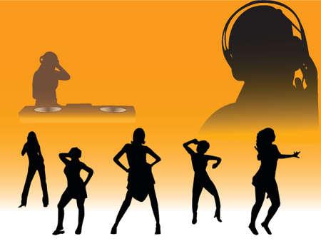 seduce: clubbing silhouettes