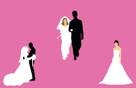 cüppe: wedding silhouettes