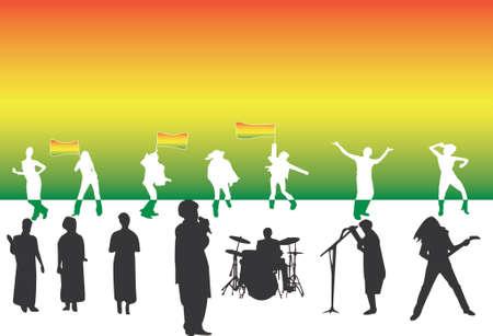 jamaica: reggae party