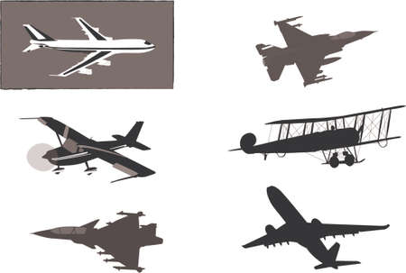 airplane vector Stock Vector - 654357
