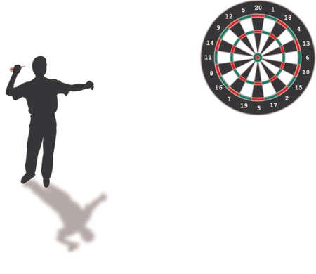 darts silhouette