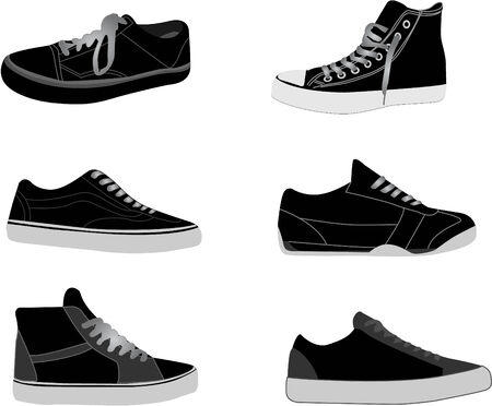 sneakers illustrations