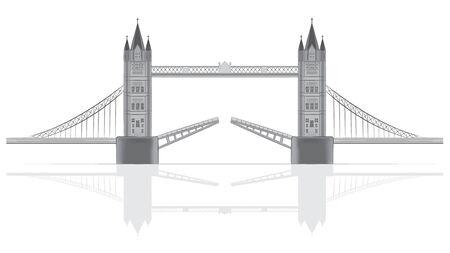 Bridge illustration Ilustração