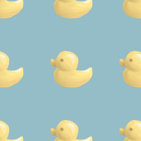duckie: Yellow duck illustration