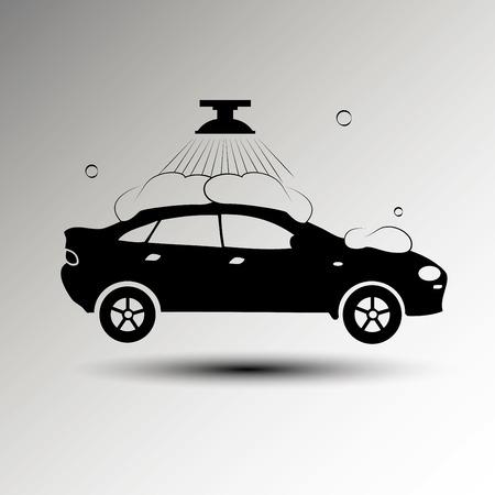 auto lavado: Carwash icons