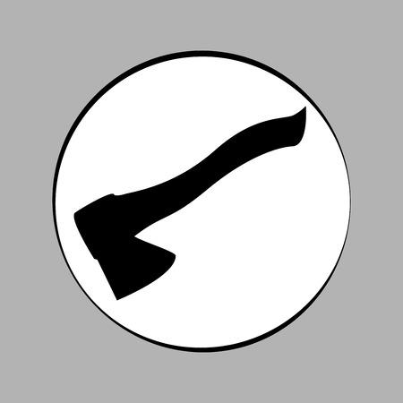 ax vector icon. workhouse equipment