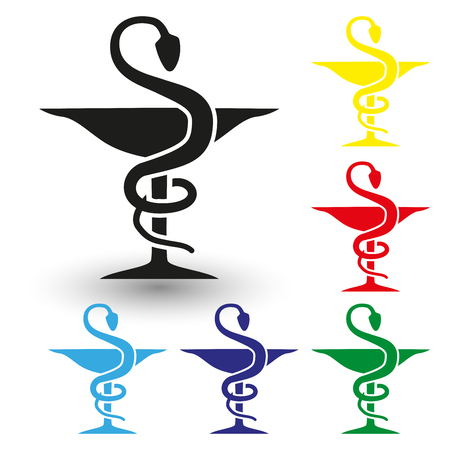Medicine, Pharmacy, Sign, Prescription Medicine, Healthcare And Medicine Vektoros illusztráció