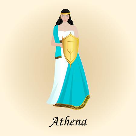 パラス アテナ知恵ギリシャ ローマのミネルバの女神