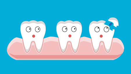 orthodontist: Tooth filling