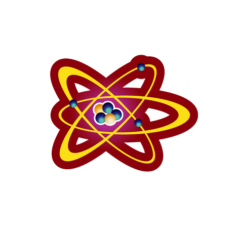 Abstract molecules design. Vector illustration. Atoms. Group of atoms forming molecule. Chemical technology concept.