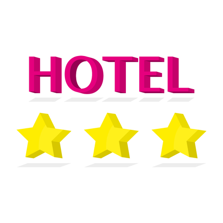 Hotel Icon 3-star sign