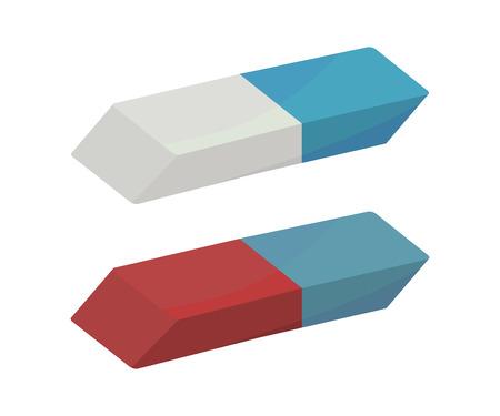Gummi-Radiergummis Vektorgrafik