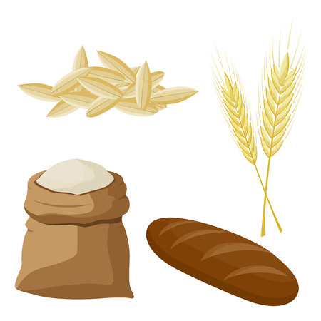 Wheat, barley, oat and Rye products.