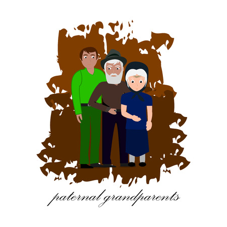 paternal grand parents design, symbol, art, icon, pattern