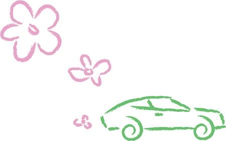 Environmentally friendly , vector illustration