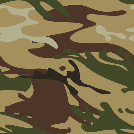 seamless camouflage pattern Illustration