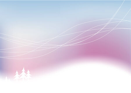 Winter snowy abstract background. Vector illustration Eps8. Stock Vector - 6041584