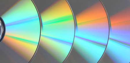 Disks lay abreast photo