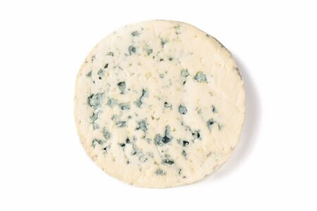 Blue Cheese on White Background - a portion of blue cheese on a white background. 写真素材